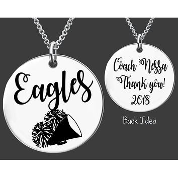 Cheer Coach Necklace | Personalized Coach Necklace