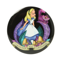 Disney Alice In Wonderland Curiouser Button Mirror