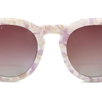 DIME II - PINK PEARL FRAME - PINK GRADIENT POLARIZED LENS
