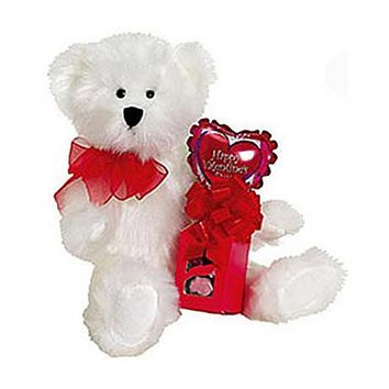 Plush - Toby Valentine Teddy Bear