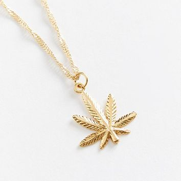 Frasier Sterling Mary Jane Necklace | Urban Outfitters