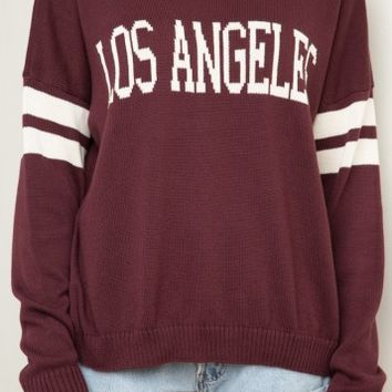 Veena Los Angeles Sweater - Brandy Melville