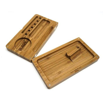 RAW BACKFLIP BAMBOO ROLLING TRAY