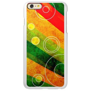 cool colored abstract swirls case