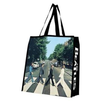 The Beatles - Abbey Road Recycled Tote Bag