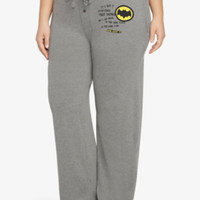 Batman Verbiage Sleep Pant