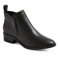 Women's Gracelyn Booties - Black 6 - Merona™