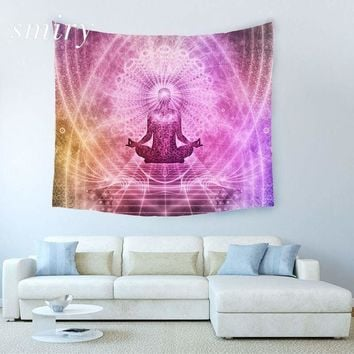 India Yoga Creative Tapestry  Beach Throw Mat Yoga Rug Wall Hanging Gobelin Livingroom Bedding Home Decor