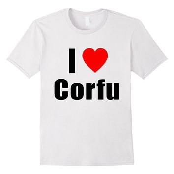 I Love Corfu Shirt