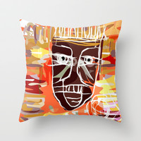 AFRICA PEOPLE Throw Pillow by hardkitty