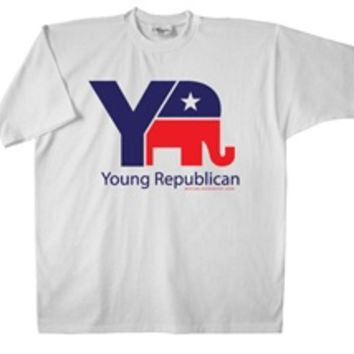 The Republican Express : Young Republican T-Shirt : Republican Party : GOP : Grand Ole Party : Merchandise : 2012 Presidential Election : Governor : Senate : Races : Buttons : Hats : Shirts : Bumper Stickers : Rally Signs : Yard Signs : Apparel