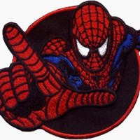 Spider-Man - With Hand Outstretched - Embroidered Iron On or Sew On Patch