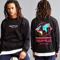 Star Hip-hop Print Hoodies [1004734709796]