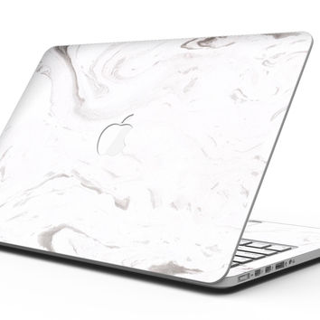Mixtured Gray 7 Textured Marble - MacBook Pro with Retina Display Full-Coverage Skin Kit