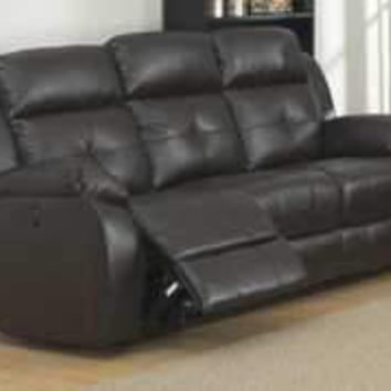 Troy Transitional Power Reclining Sofa