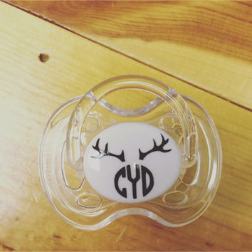 MONOGRAM Boys Pacifier Decals - Set of 10