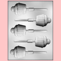 Cupcake Lollipop Chocolate Mold