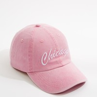 Pink Chicago Washed Twill Dad Hat | Hats & Beanies | rue21