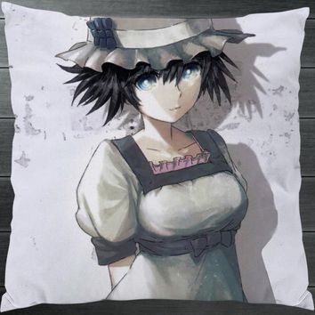 Anime Steins;Gate 0 Shiina Mayuri LabMem No.002 Two Side Pillowcase Hugging Pillow Cushion Case Cover Manga Game Cosplay Gift P7