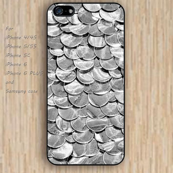 iPhone 6 case Gold COINS silver iphone case,ipod case,samsung galaxy case available plastic rubber case waterproof B118