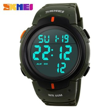 SKMEI Sports Army Military Digital Watch