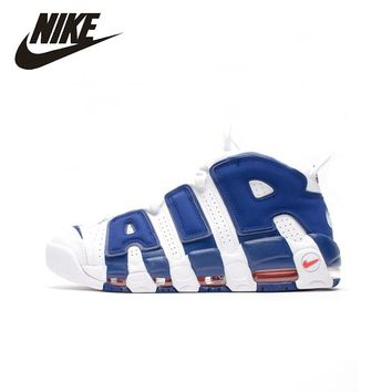 NIKE Original New Arrival AIR MOREUPTEMPO Basketball Shoes Waterproof Footwear Super Light Sneakers