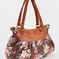 Floral Double Strapped Purse | Shop Women's Accessories Now | fredflare.com