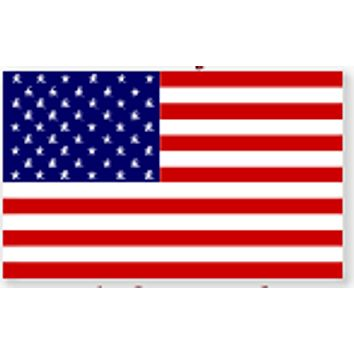 United States Of America Flag - Super Knit Poly