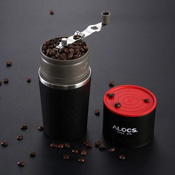 DCCKFS2 Outdoor grinding hand coffee maker pot portable mini coffee machine stainless steel coffee cup 55