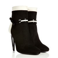 Fendi - Suede/Leather Ankle Boots