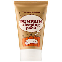 Pumpkin Sleeping Pack - Too Cool For School | Sephora