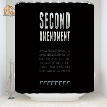 2nd Amendment Shower Curtain