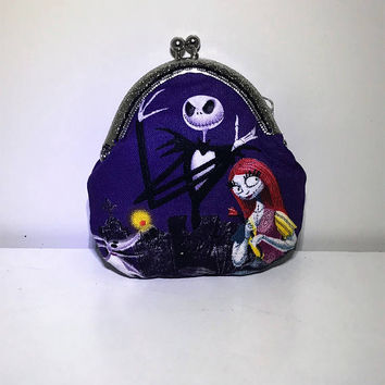 Nightmare Before Christmas Coin Purse | Wallet | Change Bag | Change Purse | Small Bag