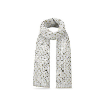 Products by Louis Vuitton: Monogram So Glitter Stole