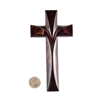 Wooden Wall Cross, Wood Wall Cross, Decorative Wall Cross, Christian Wall Decor, Wood Cross, Wooden Cross Wall Decor, Hand Carved Wall Cross