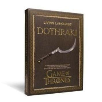 DCCK1IN living language dothraki a conversational language course based on the hit original h