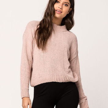 WOVEN HEART Chenille Womens Sweater | Pullovers