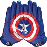 Under Armour Youth Alter Ego Captain America F4 Receiver Gloves | DICK'S Sporting Goods