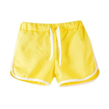 Hot Shorts Trousers Unisex Boys Girls  Hot Summer Child Beach Pants Candy Color  PantsAT_43_3