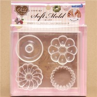soft mold for clay donut & muffin from Japan - Molds - Arts and Crafts