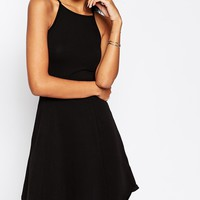 ASOS TALL 90's Skater Dress With High Neck
