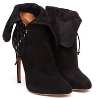 AZZEDINE ALAÏA | Suede Lace-Up Boots | Browns fashion & designer clothes & clothing