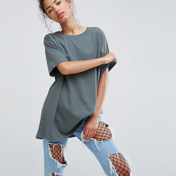 ASOS Super Oversized Boyfriend T-Shirt at asos.com