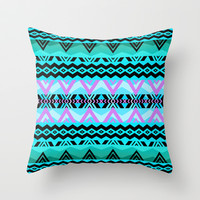 Mix #527 Throw Pillow by Ornaart