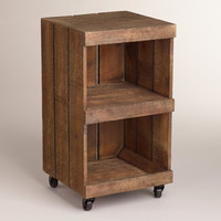 2-Shelf Chandler Rolling Cart