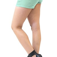 Womens Butt lifting Super Comfy Stretch Twill Shorts