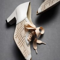 Deco Lace-Ups in  SHOP Shoes  Accessories Shoes at BHLDN