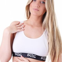 Baziic White Bra Top - Underwear - Baziic Hot!MeSS Fashion UK