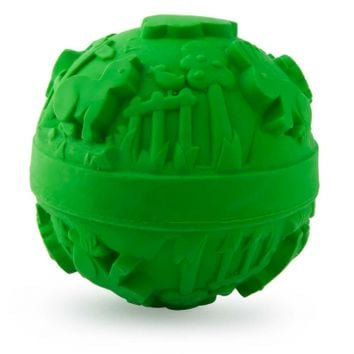 Natural Rubber Green Ball Toy