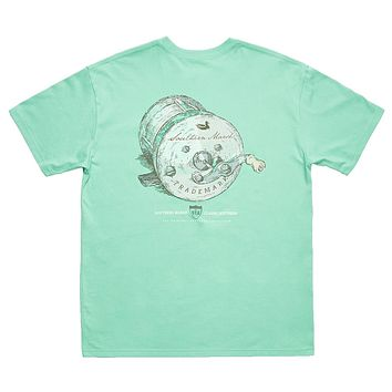 Southern Class - Fishing Reel Tee by Southern Marsh